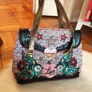 Irregular Choice Love Birds Shoulder Bag
